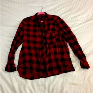 Red and Black Flannel from Aritiza